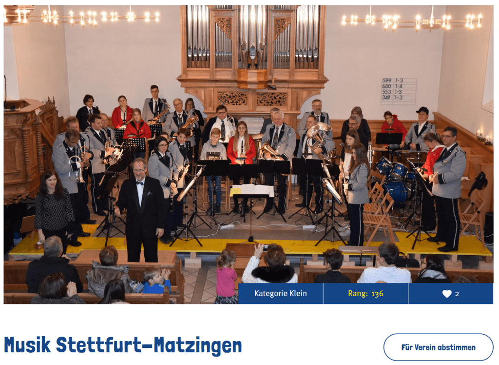 Musik Stettfurt-Matzingen _ Volg-Win
